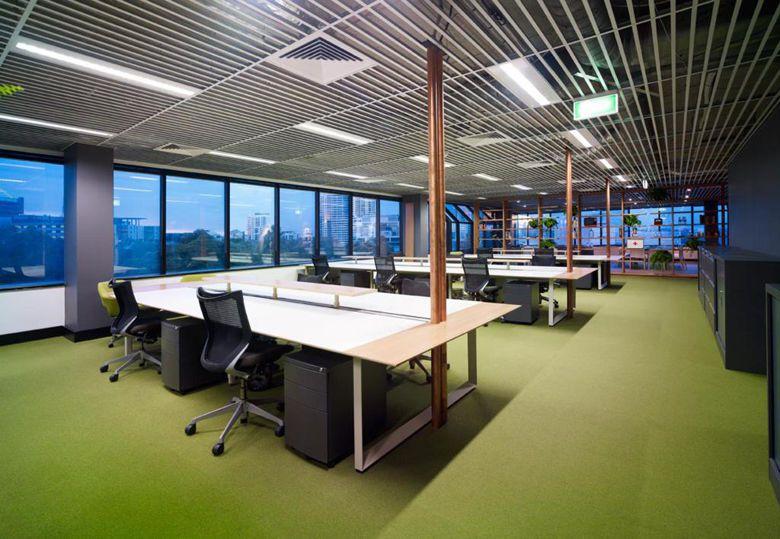 450平办公室装修效果图-办公室空间设计