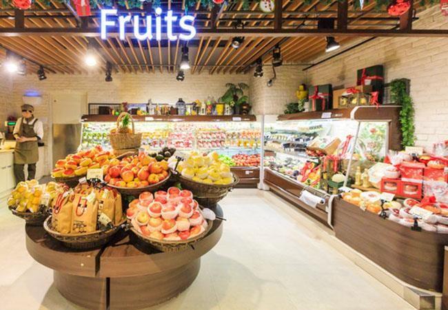 合肥水果专卖店装修-鲜果店设计效