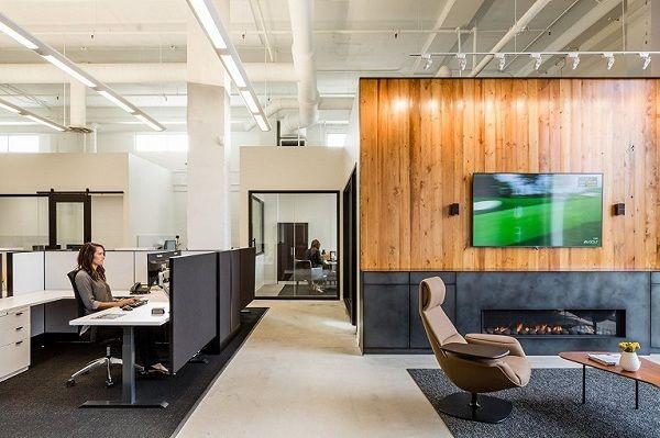 合肥欧式风格loft办公室装修设计