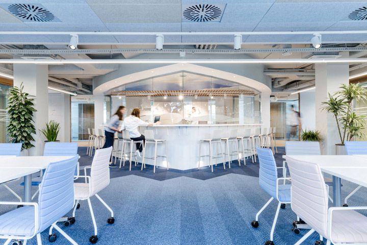 科技公司办公室装修设计效果图