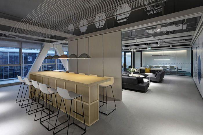 1200平米科技公司办公室装修多少钱一平