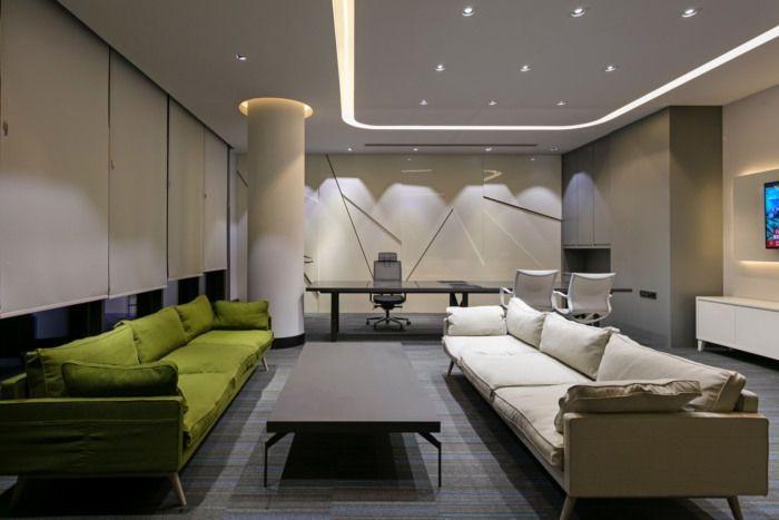 合肥办公室装修设计中如何利用有限的空间进行合理规划
