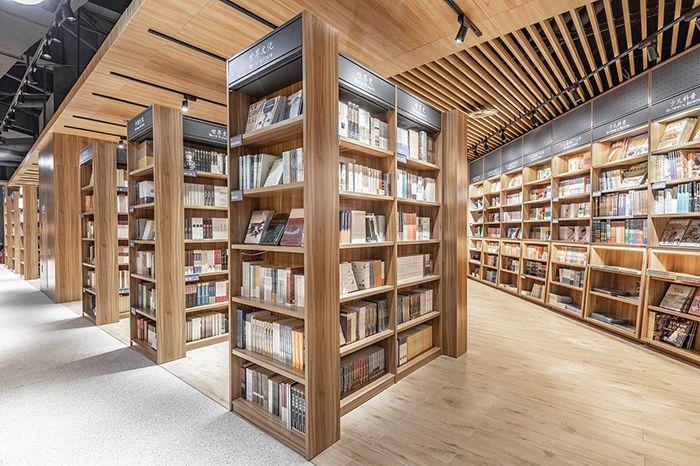 书店装修效果图,如何装修设计书店