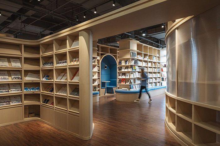 书店装修设计,创意书店设计理念及书店装修效果图