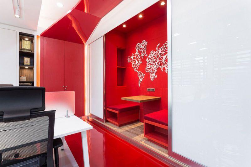 科技信息公司的办公室应该如何设计装修?
