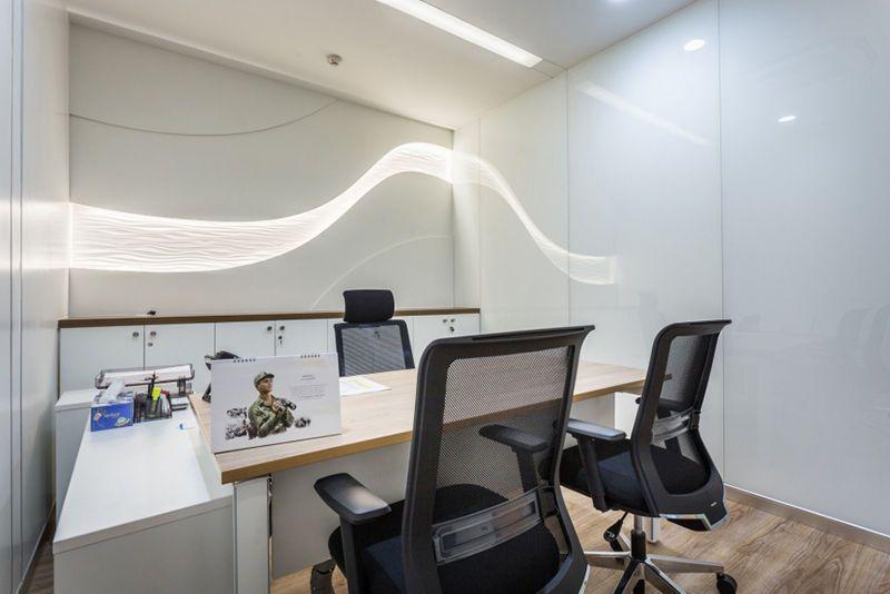 科技公司办公室装修实景图鉴赏,领略科技魅力