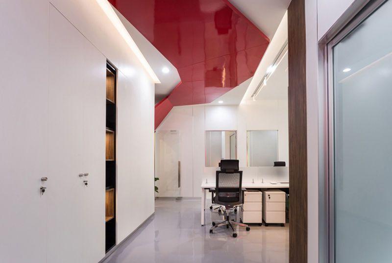 合肥科技信息公司办公空间整体解决方案